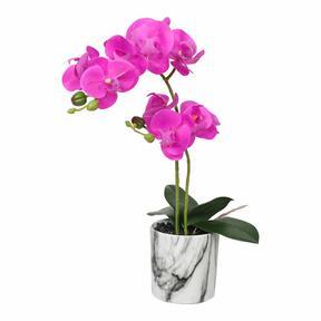 Ciklamen mesterséges orchidea 49 cm
