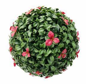 Gradenia műgömb piros 45 cm