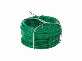Kötőhuzal műsövényhez, lágyított zöld 1,2 mm - tekercs 25 m