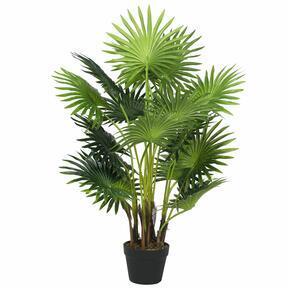 Livistona mini mesterséges pálmafa 100 cm