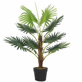 Livistona mini mesterséges pálmafa 65 cm