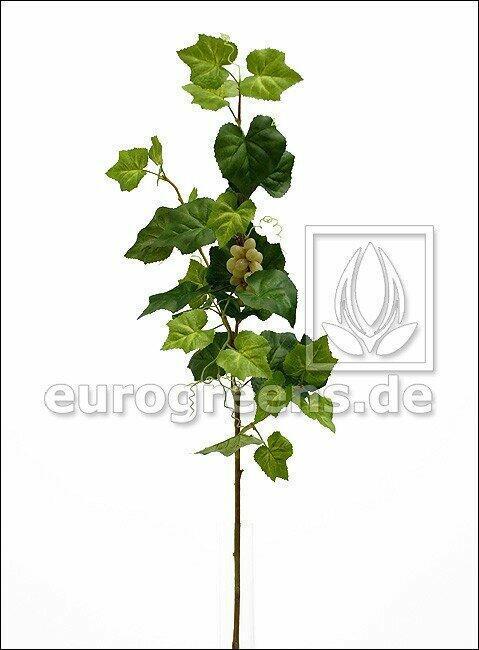 Mesterséges ág Szőlő gyümölcsökkel 95 cm