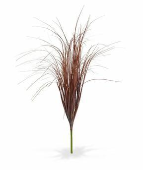 Mesterséges barázdás köteg bordó fűből 80 cm