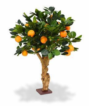 Mesterséges bonsai Citrom narancs 65 cm