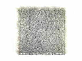 Mesterséges ezüst panel Calocephalus - 50x50 cm