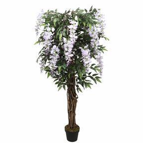 Mesterséges fa Wisteria lila 150 cm
