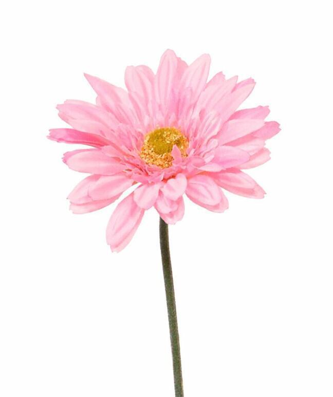 Mesterséges Gerbera virág rózsaszín 60 cm