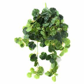 Mesterséges inda Geranium zöld 80 cm