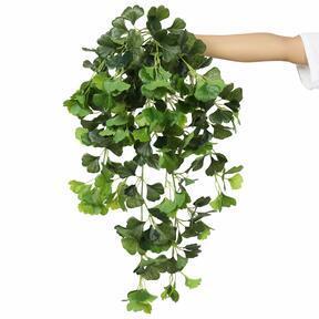 Mesterséges inda Ginko zöld 80 cm