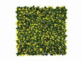 Mesterséges lombhullató panel Holly - 50x50 cm
