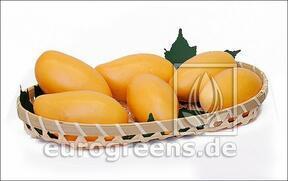 Mesterséges mangó sárga