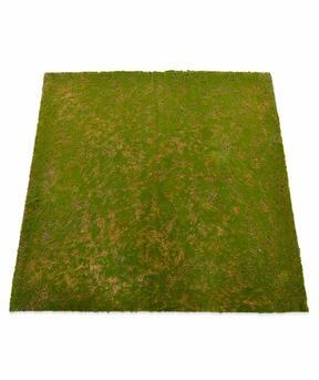 Mesterséges mohaszőnyeg 100 x 100 cm - zöld