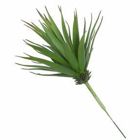 Mesterséges növény Agave zöld 20 cm