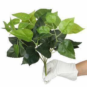 Mesterséges növény bazsalikom zöld 25 cm