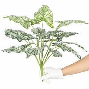 Mesterséges növény Calladium kétszínű 50 cm