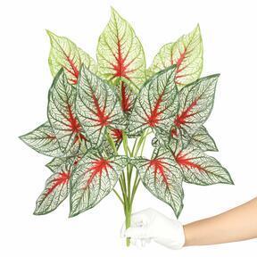 Mesterséges növény Calladium sokszínű 50 cm