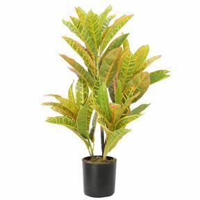 Mesterséges növény Croton-foltos 55 cm