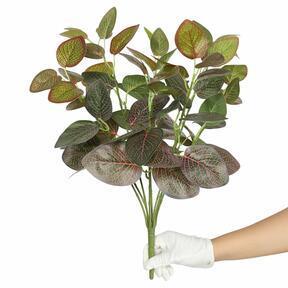 Mesterséges növény Fitonia piros 45 cm