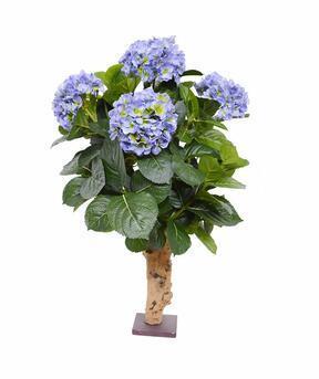 Mesterséges növény Hortenzia kék 65 cm