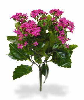 Mesterséges növény Kalanchoa rózsaszín 30 cm
