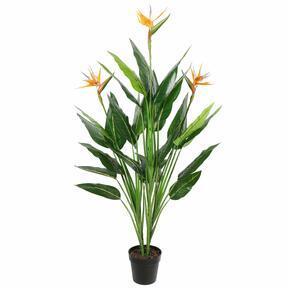 Mesterséges növény Lövés virágzó 150 cm
