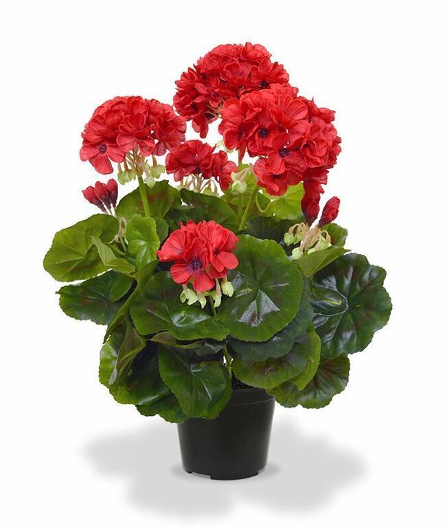 Mesterséges növény Pakost piros 40 cm