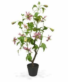 Mesterséges növény Passion fruit pink 90 cm