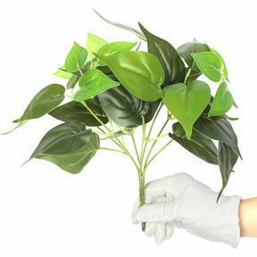 Mesterséges növény Philodendron Cordatum 25 cm
