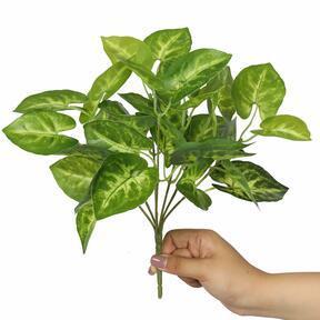 Mesterséges növény Taro Araceae 25 cm