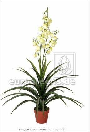 Mesterséges növény Yucca gyönyörű 125 cm