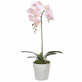 Mesterséges orchidea rózsaszín 53 cm
