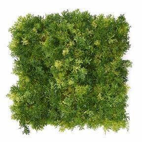 Mesterséges világoszöld mohapanel - 25x25 cm