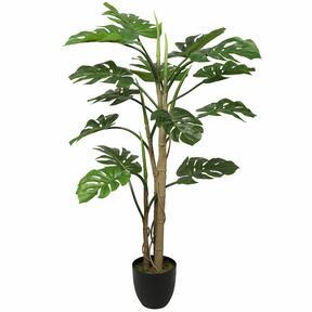Monstera mesterséges növény 120 cm