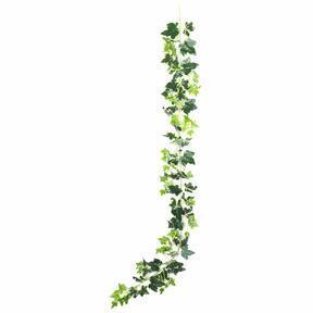 Műfüzér Ivy fehér-zöld 190 cm