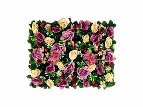 Művirág panel Rose és Hortenzia - 40x60 cm