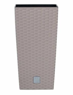 RATO SQUARE virágcserép + mokkabetét 40,0 cm