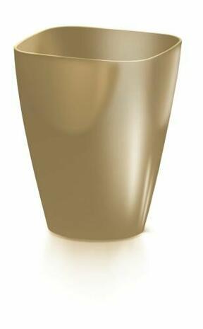 Virágcserép COUBI ORCHID szögletes kávé tejjel 13,2 cm