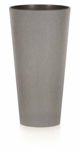 Virágcserép TUBUS SLIM CONCRETE szürke 15cm